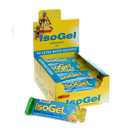 High5 IsoGel Plus - Nutrición deportiva - Lemon 25 x 60ml